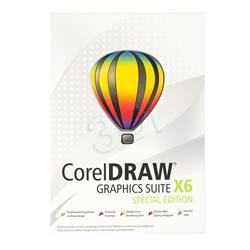 CorelDRAW Graph.Suite X6 Spec.Editi. PL/CZ BOX-1055181