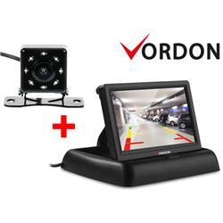 Kamera cofania Vordon 8IRPL i Monitor kamery cofania Vordon CR-43-919493