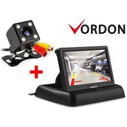 Kamera cofania Vordon 4SMDPL i Monitor kamery cofania Vordon CR-43-919494
