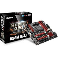 Płyta ASRock A88M-G/3.1 /A88X/DDR3/SATA3/M.2/USB3.1/PCIe3.0/FM2 /mATX-1103150